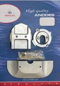 Tecno Seal, Angel Anoden Set Zinc Mercury Alpha One, 53947