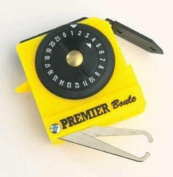 Henselite Bowl Sport Accessory Ball Measure Tape Bowls Measure Premier Yellow