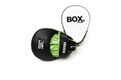 Escape Fitness Synth-Tech Curved Hook and Jab Training Boxing Pads - Black/Green