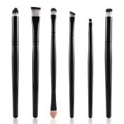 6PCS Makeup Brushes, Emubody Cosmetic Makeup Brush Lip Makeup Brush Eyeshadow Brush