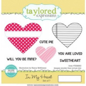Taylored Expressions Stamps ~ In My Heart