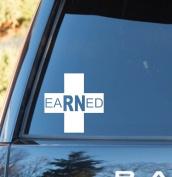 C1127 Nurse EARNED Decal Sticker