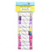 Butterfly 10yd Sample Multi Pack - FOE Grab Bag - 1.6cm Fold Over Elastic