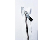 Sisters Common Thread Zipper 41cm Wht Tape Gunmetal