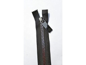 Sisters Common Thread Zipper 41cm Blk Tape Gunmetal