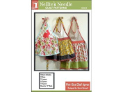 Nellie's Needles Pint-Size Chef Apron 2-8 Yrs Ptrn
