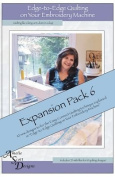 Edge-to-Edge Quilting on Your Embroidery Machine Expansion Pack 6