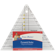 Fons & Porter Pyramid Ruler-1`` To 6`` by_athenaexpress