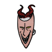 Lock Trick-Or-Treat Devil Kid Nightmare Before Christmas Iron-On Patch Applique
