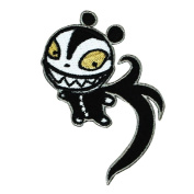 Scary Teddy Nightmare Before Christmas Iron-On Patch Halloween Town Toy Applique