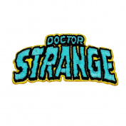 "Retro Marvel ""Doctor Strange"" Iron-On Patch Superhero Comic Fan Apparel Applique"