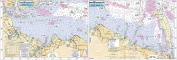 Raritan Bay to Sandy Hook, NJ - Laminated Nautical Navigation & Fishing Chart by Captain Segull's Nautical Sportfishing Charts   Chart # RSH363