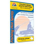 Toledo Bend-South Section (Dam to Patroon Bay - LA/TX) Fishing Map