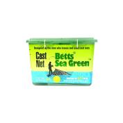 Betts 14-10 Professional Series Live Bait and Shrimp Mono Cast Net, 3m Length, 1.6cm Mesh, Sea Green Finish