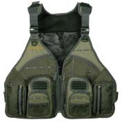 Allen Big Horn Fishing Vest, Olive