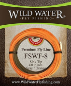 Wild Water Fly Fishing Weight Forward 8 Sinking Tip Fly Line