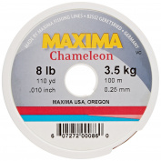 Maxima Fishing Line Mini Pack, Chameleon, 3.6kg/110-Yard