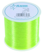 Ande A18-8GE Premium Monofilament Fishing Line 0.1kg Spool, 0.1kg Test, Bright Green Finish