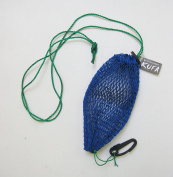 KUFA SPORTS Commercial Style Bait Bag with Rubber Locker & Hook, Blue