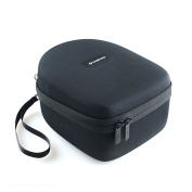 Caseling Hard Case for Howard Leight by Honeywell R-01902 Impact Pro Sound Amplification Electronic Earmuff. - Includes Mesh Pocket for Accessories.