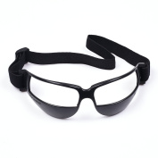COSMOS Black Colour Sports Soccer Basketball Dribble Goggles Specs