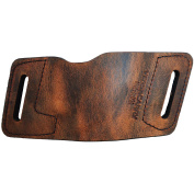 Versa Carry Quick Slide OWB Holster, Brown, Size 1