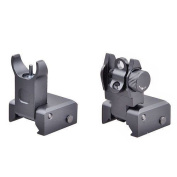 Trinity Force Tactical Flip Up Iron Sight Rear/Front Sight Mount