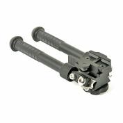 Green Blob Outdoors CNC QD (Black) Tactical 17cm - 23cm Bipod Flat Adjustable