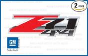 GMC Sierra Z71 4x4 Special decals stickers Red Black - FSRB (2007-2013) bed side 1500 2500 HD