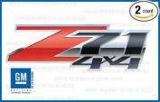 Chevy Silverado Z71 4x4 decals stickers Special - FS (2007-2013) bed side 1500 2500 HD