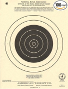 (100) TQ3/1 Paper Shooting Targets Silhouette 18cm x 23cm MADE IN USA