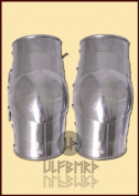 Pair of Elbow, Tile, 2mm Steel by Ulf Berth for Battle