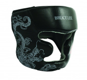 Bruce Lee Dragon Head Guard, Red/Black, S/M, 14BLSBO034