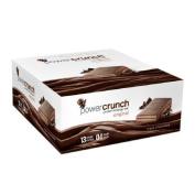 Power Crunch Original Energy Bar 12 Ct (Triple Chocolate by Bio Nutritional