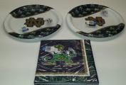Notre Dame Fighting Irish Party Bundle 23cm Plates (16) Lunch Napkins