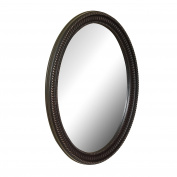 American Pride 9530VEN Middleton Decorative Framed Oval Mirror, 60cm x 80cm , Venetian Bronze