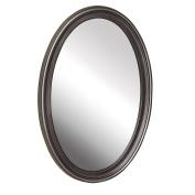 American Pride 9508PEW - Warwick Decorative Framed Oval Mirror Pewter 50cm x 80cm