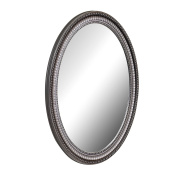American Pride 9530PEW - Middleton Decorative Framed Oval Mirror Pewter 60cm x 80cm