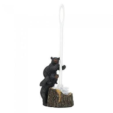 Bear Family Toilet Brush Holder