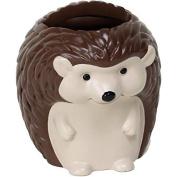 Mainstays Kids Woodland Creatures Handpainted 3D Resin Hedgehog Toothbrush Holder