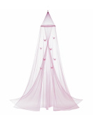 Home Decor Pink Butterfly Bed Canopy