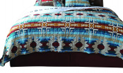 Carstens JQ325 Southwest Harvest Quilt Bedspread, Queen
