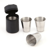 VWH Portable Stainless Steel Wine Glass Travel Cup Outdoor Drinkware Cup