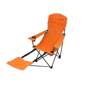 Fridani FRO 105 - camping chair with footrest, foldable, incl. bag, 4200g