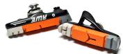 AWE® Black Cassette Road Brake Blocks Grey/Orange/White 55mm