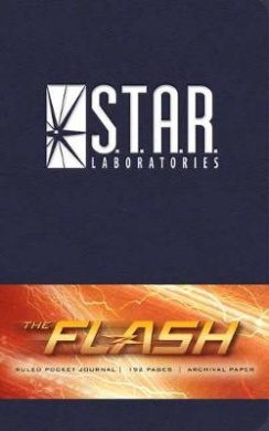 Flash: S.T.A.R. Labs Ruled Pocket Journal