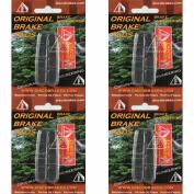 4 Pairs Shimano Dura-Ace Ultegra 105 Road Brake Pad Inserts BR-7700 7800 DiscoB