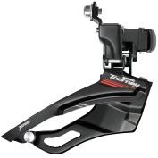 Shimano Tourney/TY FD-M190 Top Swing Hybrid Front Derailleur - Black, 7/8 Speed