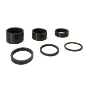 "6PCS Light Weight 3K Carbon Headset Spacers 1 1/8""-2mm,3mm,5mm,10mm,15mm,20mm"