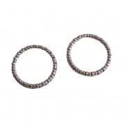 2 PCS New High Quality Bike 2.9cm Headset Caged Ball Bearing Race 0.4cm
